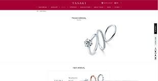 TASAKIの公式サイトの画像