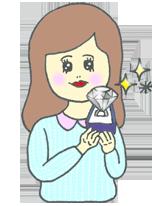 30~50万円で選ぶ婚約指輪
