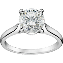 1895 SOLITAIRE RING