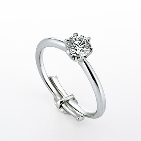 銀座ダイヤモンドシライシ_スマイルプロポーズリング